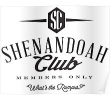 Shenandoah Club Poster