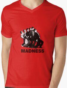 Madness Mens V-Neck T-Shirt