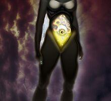 The Sentinel [Digital Fantasy Figure Illustration] by Grant Wilson
