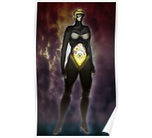 The Sentinel [Digital Fantasy Figure Illustration] Poster