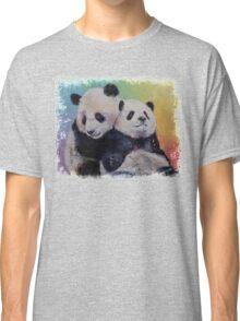 Panda Hugs Classic T-Shirt