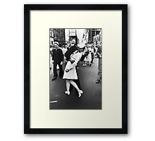 VJ Day Times Square Kiss Framed Print