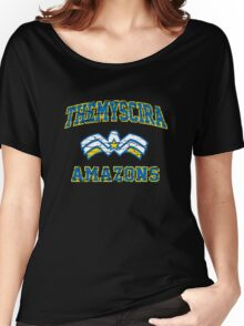 Wonder Woman - American Football Style Women's Relaxed Fit T-Shirt