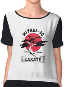 Karate Kid - Mr Miyagi Do Red Variant Chiffon Top
