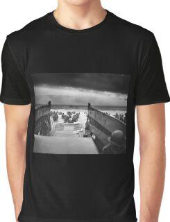 D Day - Omaha Beach Graphic T-Shirt