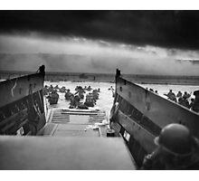 D Day - Omaha Beach Photographic Print