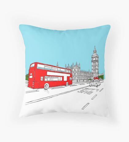 London 2012 Throw Pillow