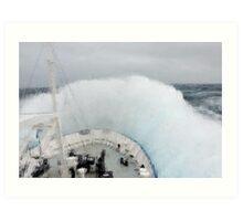 Wild Seas - Furious Fifties Art Print
