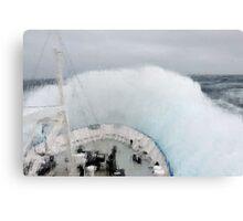Wild Seas - Furious Fifties Canvas Print