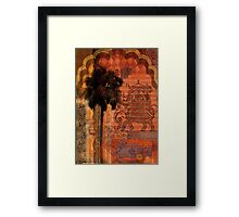 Memories of a foreign place Framed Print