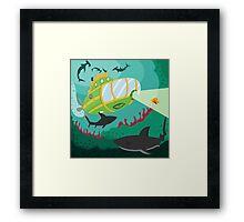 BATHYSCAPHE (AQUATIC VEHICLE) Framed Print