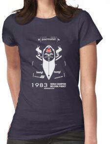 BRABHAM 1983 NELSON PIQUET (2) Womens Fitted T-Shirt
