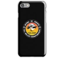 Karate Kid - Mr Miyagi Do Black Variant iPhone Case/Skin