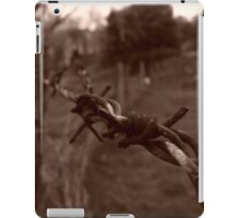 no trespassing iPad Case/Skin