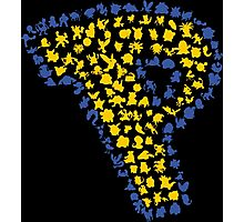 Pokemon Silhouettes Photographic Print