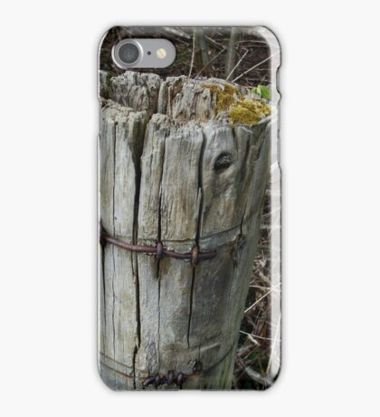 logging off iPhone Case/Skin