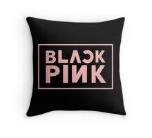 blackpink logo Throw Pillow