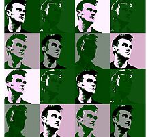 Morrissey vs Warhol (The Queen Is Dead) by PheromoneFiend