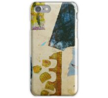 looking at the garden with scissors iPhone Case/Skin