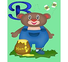 B is for Bear Photographic Print
