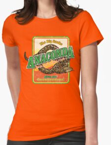 Anaconda Malt Liquor Womens Fitted T-Shirt