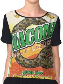 Anaconda Malt Liquor Chiffon Top