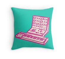 Pink VCS3 and DK1 design Throw Pillow