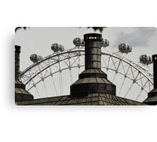 The eye of London Canvas Print