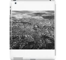 Aerial View Of Bucharest City In Romania iPad Case/Skin