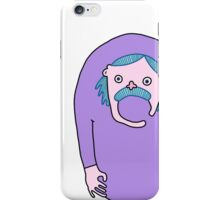 Hairy Mustachy Guy iPhone Case/Skin