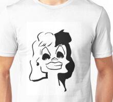 cruella de vil Unisex T-Shirt