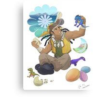 Yu-Gi-Oh! - Tyranno Hassleberry Canvas Print