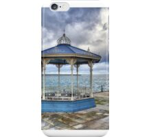 Dun Laoghaire Pier Bandstand iPhone Case/Skin