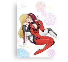 Yu-Gi-Oh! - Aki & Sherry Canvas Print
