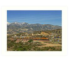 Union Pacific # 4551 at Cajon Pass Art Print