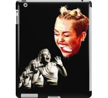 Attack of the creepy tongue iPad Case/Skin