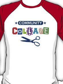 Community Collage Art College Pun T-Shirt