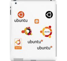 ubuntu linux stickers set iPad Case/Skin