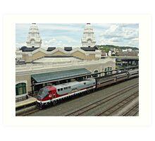 Amtrak Veterans Unit # 42 at Worcester Art Print