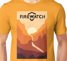 Firewatch horizion with logo Unisex T-Shirt