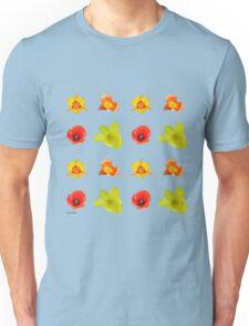 Tulips on iced coffee Unisex T-Shirt