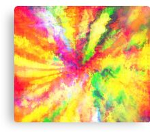 Psychedelic Abstract Watercolour Art Canvas Print