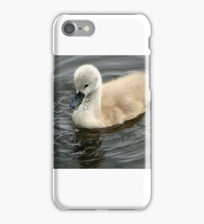Learning to swim iPhone Case/Skin