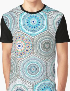 Hexagon design elements with moroccan motif Graphic T-Shirt