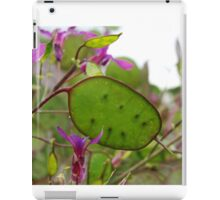 seeds of nature iPad Case/Skin