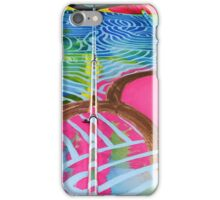 Teneo Mural Pink Scales iPhone Case/Skin