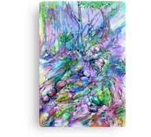 Purple Rainforest Canvas Print