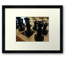 its all in the game Framed Print