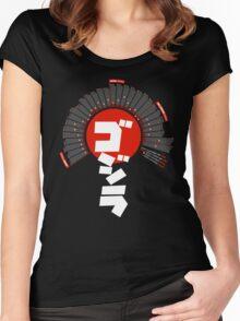Godzilla: Infographic T-shirt Women's Fitted Scoop T-Shirt