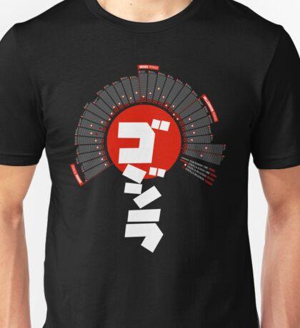 Godzilla: Infographic T-shirt Unisex T-Shirt